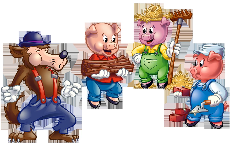 Ngày xửa ngày xưa, có 3 chú lợn con sống trong một ngôi làng nọ. Chú lợn con  thứ nhất xây một ngôi nhà bằng rơm và chú lợn con ...