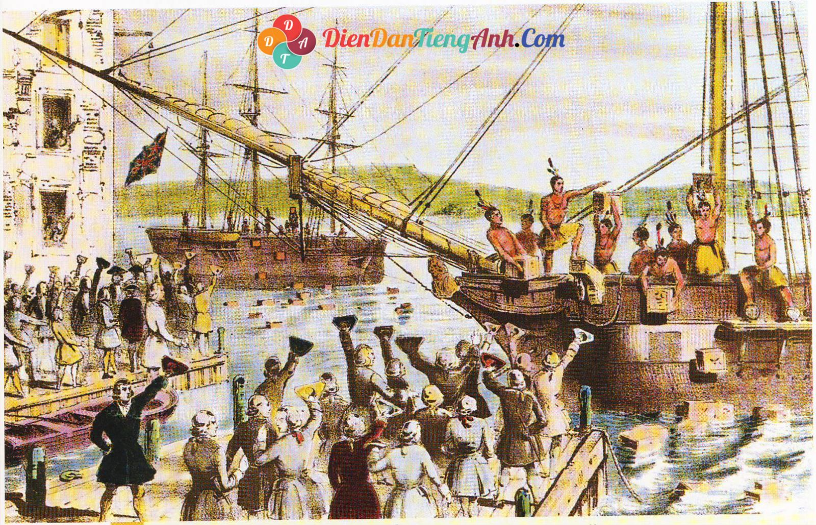 Reading: Chủ đề Boston Tea Party (Bài tập)